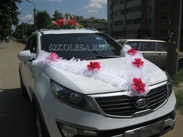 КОЛЕСА - Свадебные украшения для машин