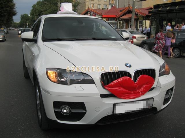 BMW X6 (Белый, черный)