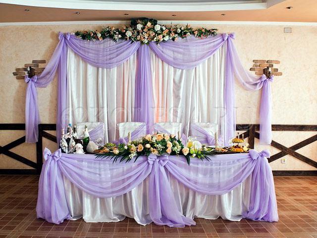 Оформление свадебного стола фото