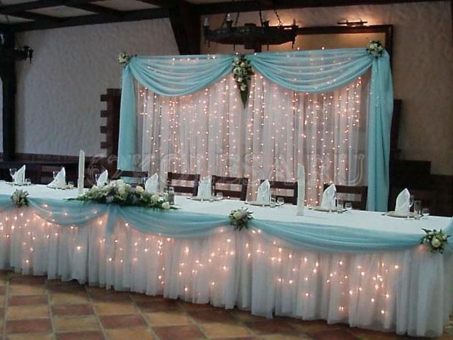 Украшение зала своими руками для свадьбы фото